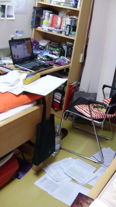Una veduta della mia scrivania