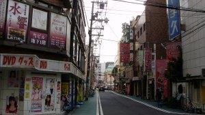 Di fronte al bellissimo Hotel Kansai