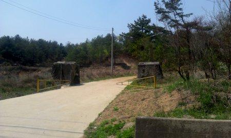 Una base militare abilmente mimetizzata nell'ambiente