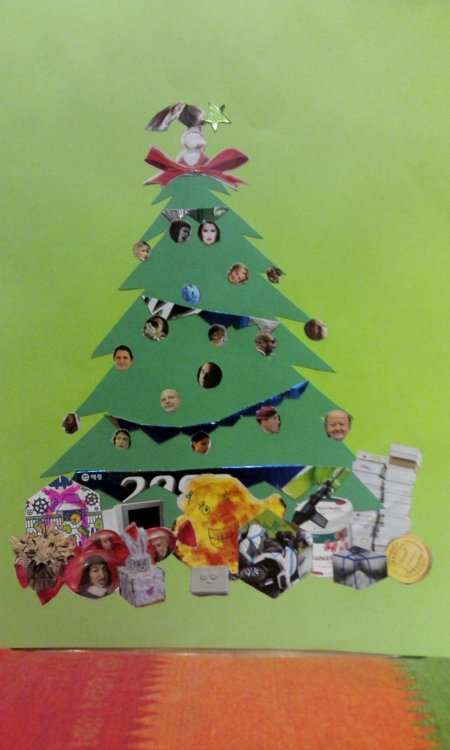 Buon Natale da parte mia e di tutti gli amici che decorano il mio albero di Natale 2013!
